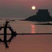 Sunrise at Saint-Malo